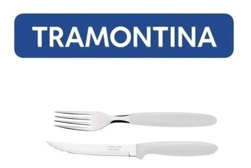 Kit Restaurante 240 Talheres Tramontina Ipanema Branco
