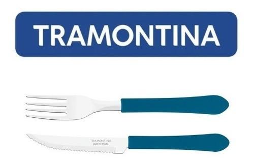 Kit Restaurante 40 Talheres Tramontina 20 Facas + 20 Garfos