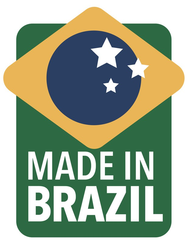Lixeira Inox com Pedal Tramontina Brasil 20 L