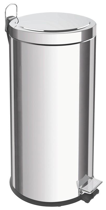 Lixeira Inox com Pedal Tramontina Brasil 30 L
