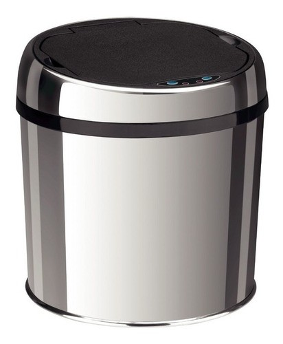 Lixeira Inox Tramontina Easy Automática com Sensor 6 L