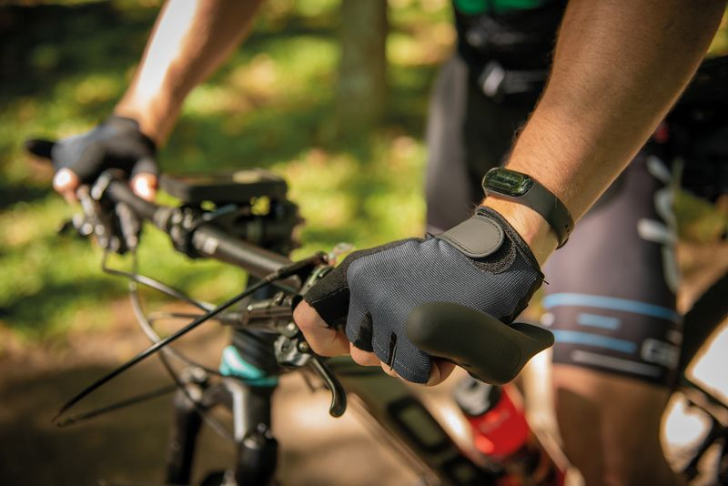 Luva para Ciclismo Tramontina Bicolor Tamanho M