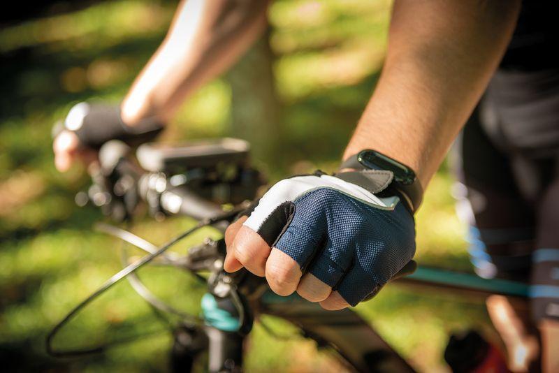 Luva para Ciclismo Tramontina Tricolor Tamanho M