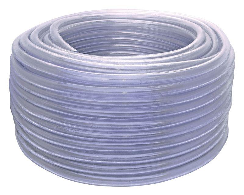 Mangueira Cristal Tramontina em PVC 1 Camada 200 Metros