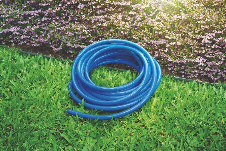 Mangueira Flexível Tramontina Azul 10 M Com Acessórios