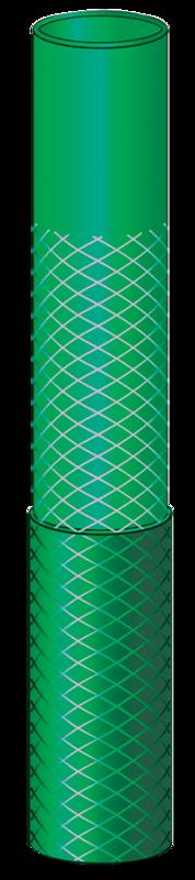 Mangueira Flexível Tramontina Verde em PVC 3 Camadas 200 Metros