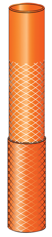 Mangueira Flexível Com Acessórios 10 M Laranja Tramontina