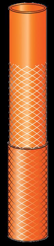 Mangueira Flexível Com Acessórios 15 M Laranja Tramontina