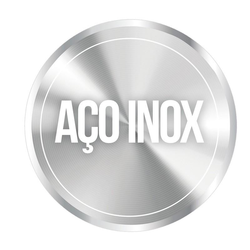 Misturador Monocomando Tramontina em Aço Inox com Bica Móvel