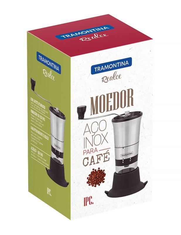 Moedor Para Café Aço Inox e Polipropileno Tramontina