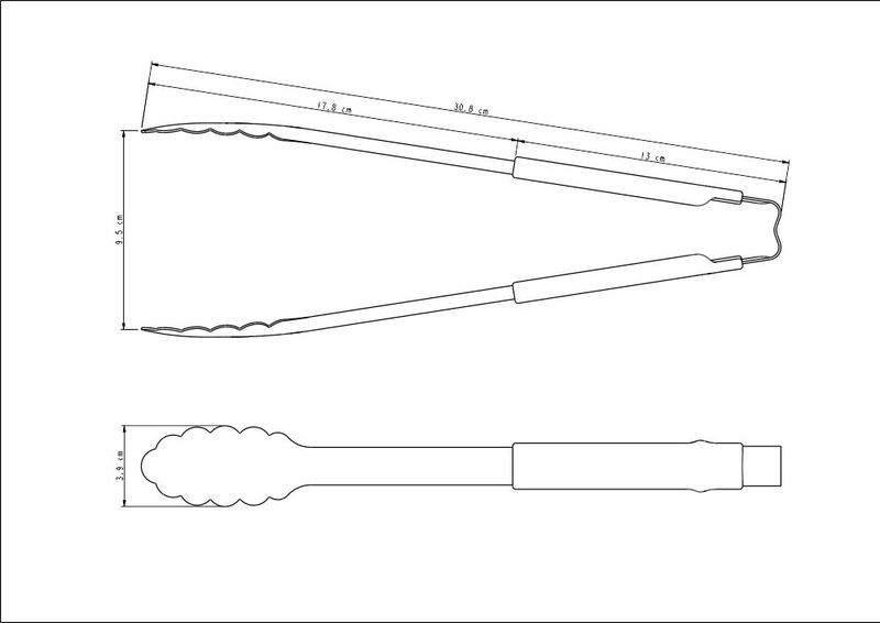 Pegador Tramontina Utilitá em Aço Inox com Cabo Cinza