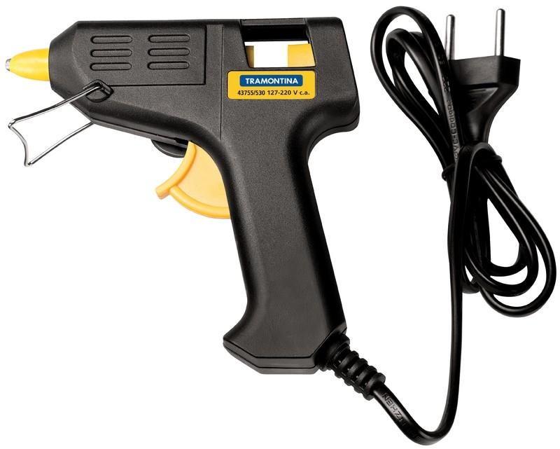 Pistola Elétrica p/ Cola Quente 20-25 W Tramontina