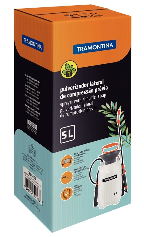Pulverizador Lateral de Comp. Prévia Tramontina 5 Litros