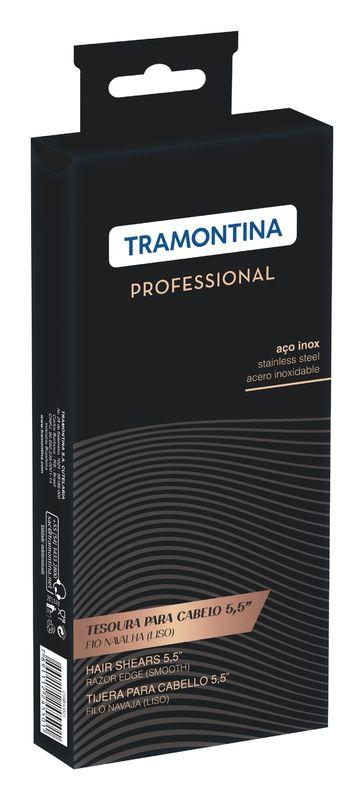 """Tesoura Inox 5,5"""" Fio Navalha Tramontina"""