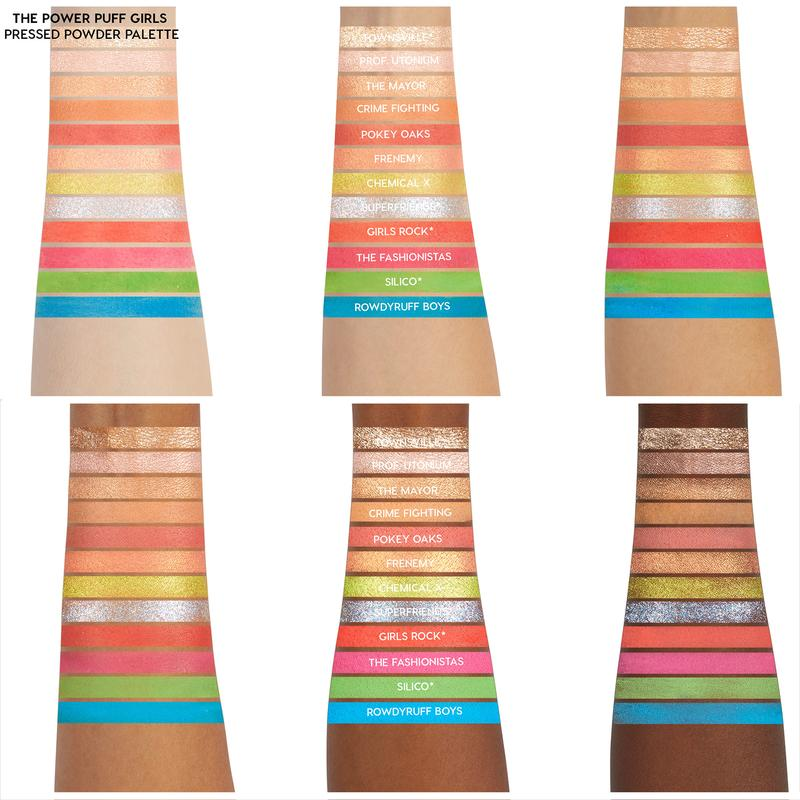 As Meninas Super Poderosas Paleta de Sombras  -  Colourpop