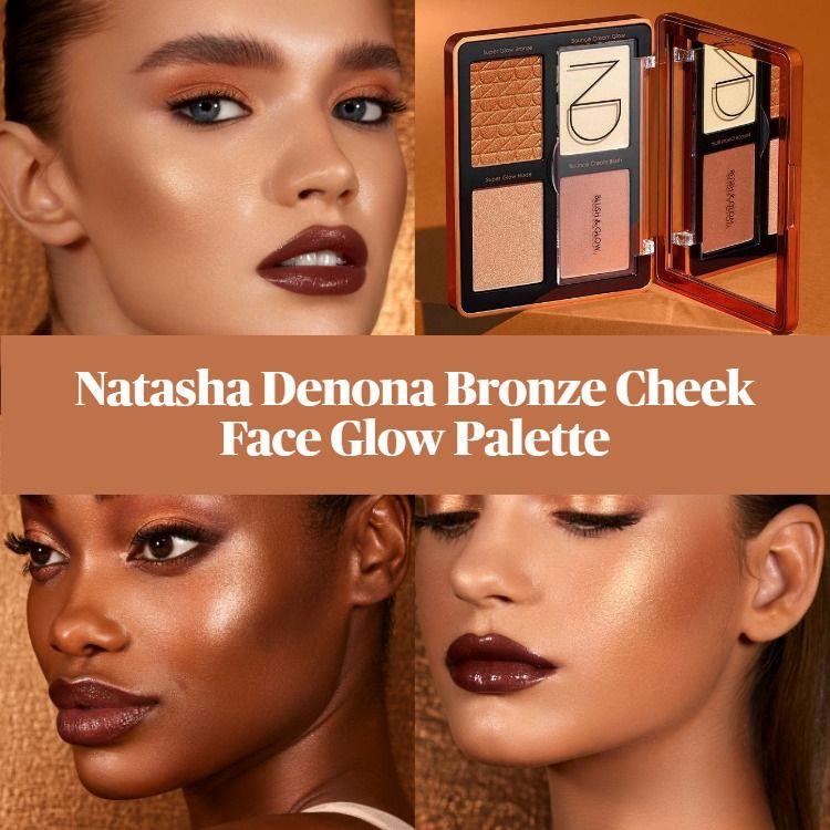 Bronze Face Glow Palette - Natasha Denona
