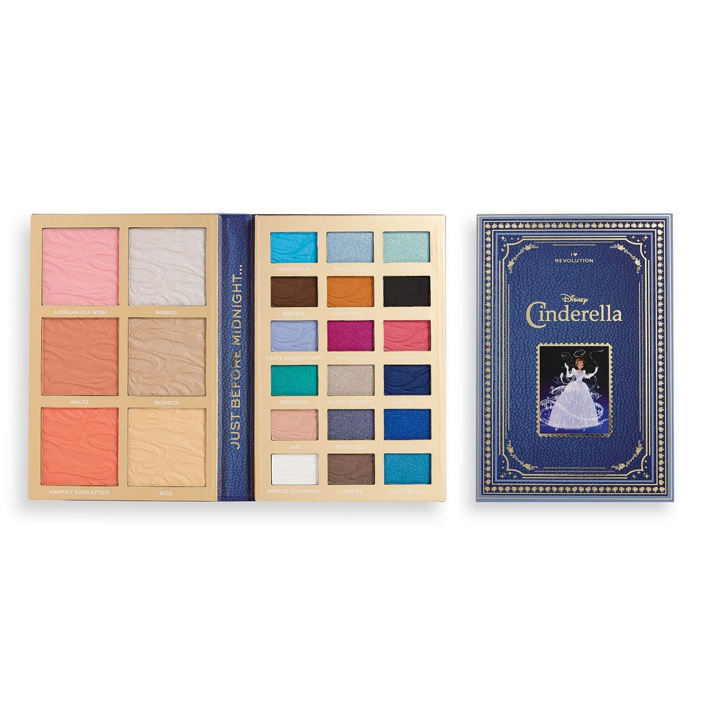 Cinderela Paleta de Sombras - Makeup Revolution