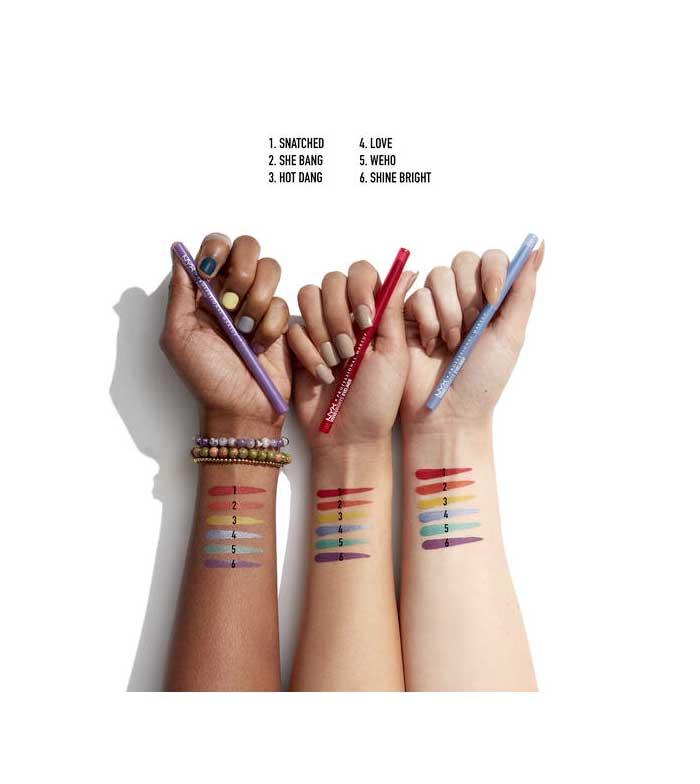 Delineador Pride Edition Vivid Brights - Nyx Cosmetics