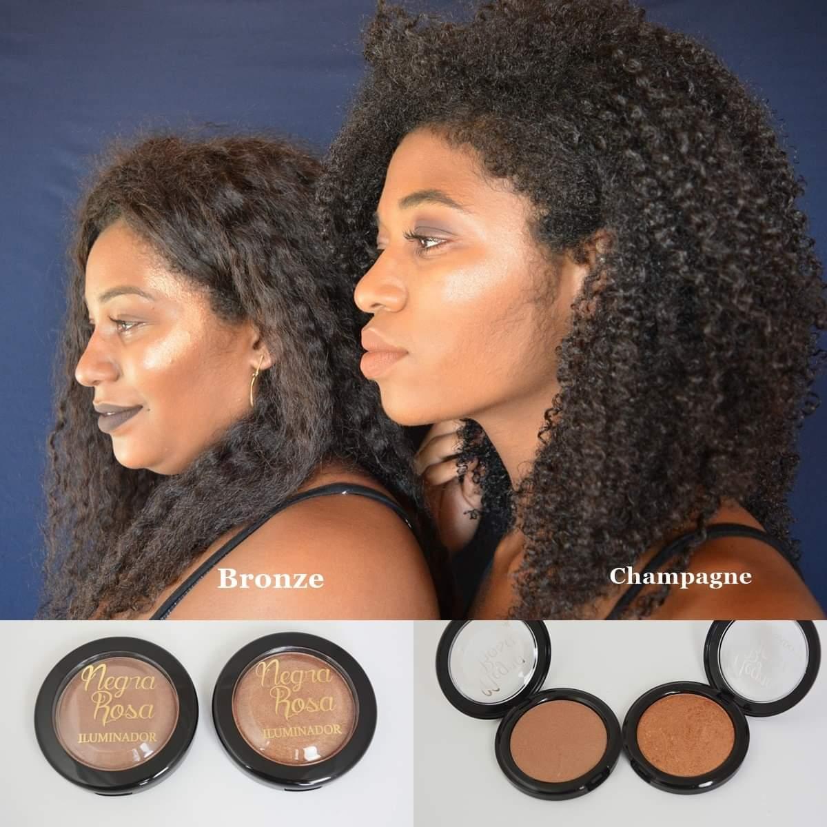 Iluminador Bronze - Negra Rosa