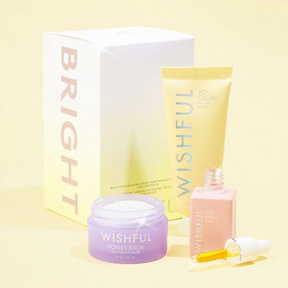 Kit Bright - Wishful Huda Beauty
