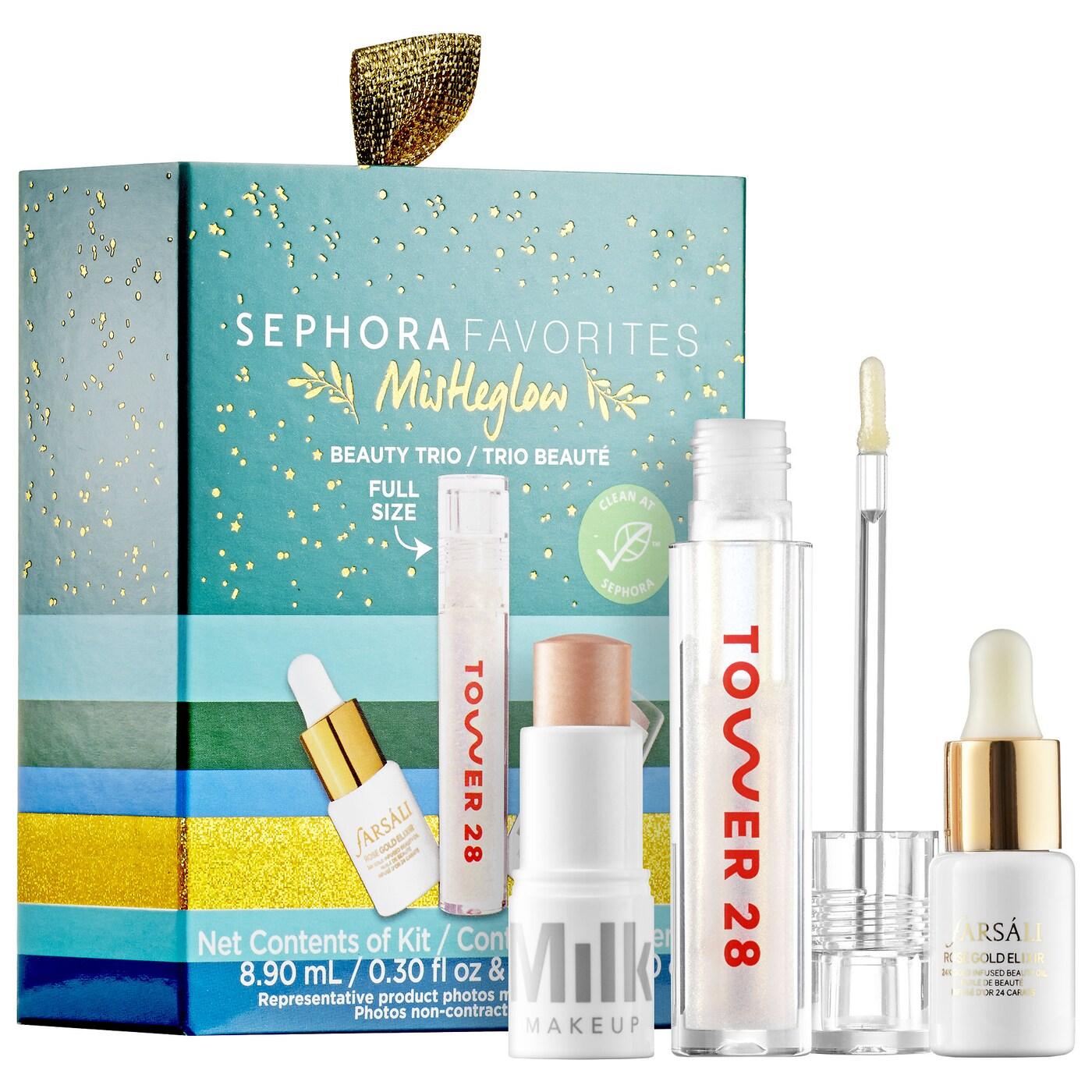 Kit Mini Mistleglow Clean Highlight Set - Sephora Favorites
