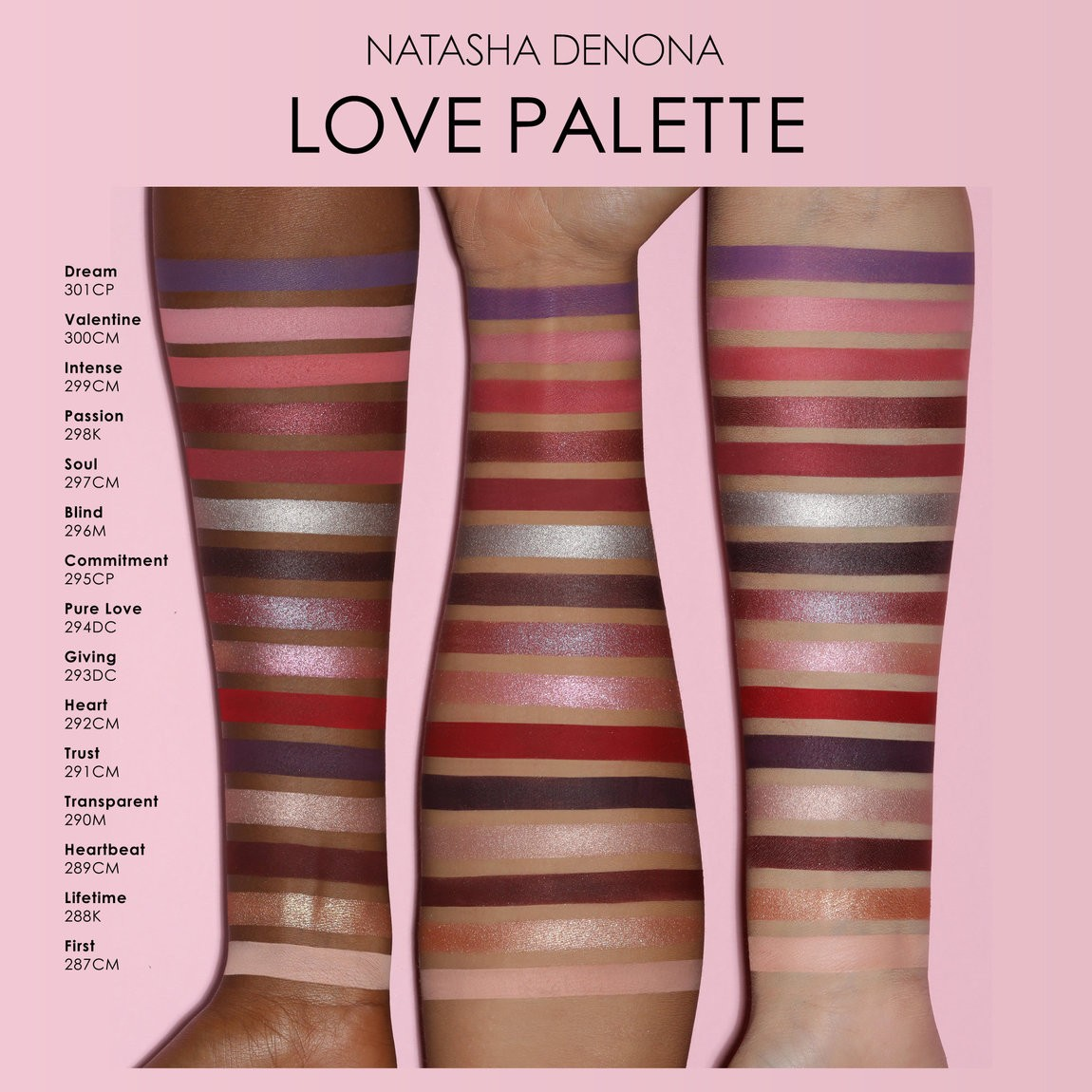 Love Palette  - Natasha Denona