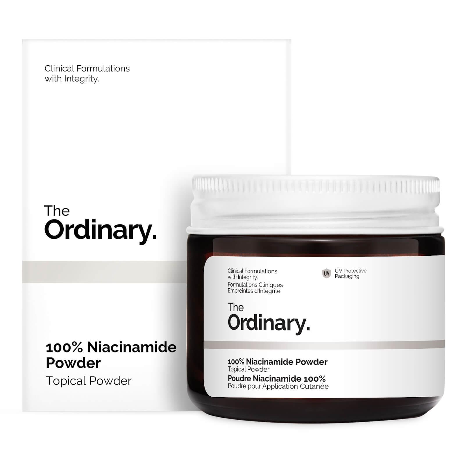 Niacinamida em Pó (100% Niacinamide Powder) - The Ordinary
