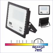 30 kit Mini Refletor Holofote JORTAN LED SMD 50W Branco Frio IP67