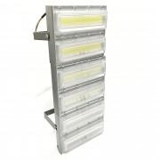 Refletor de led floodlight 2020 1200w linear ip68 bivolt 6500k branco frio(12 módulos)