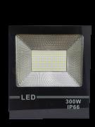 KIT 20 REFLETOR DE LED 300W 6500K BIVOLT IP66 BRANCO FRIO RESISTENTE A ÁGUA