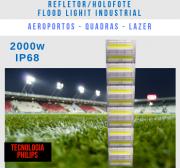 KIT 20 REFLETOR FLOOD LIGHT 2000W