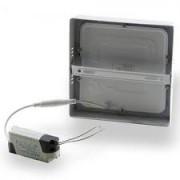 Kit 2 Plafon Led de Embutir 24w Quadrado 30x30 Branco Frio