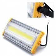kit 2 Refletores 100W LED Linear Blindado – A prova de água