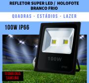KIT 23 REFLETORES DE LED BRANCO FRIO 100W 2 Chips egg yolk (Tecnologia Samsung)