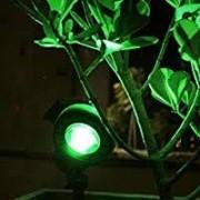 KIT 30 ESPETOS DE LED 5W PARA JARDIM - LUZ VERDE - BIVOLT