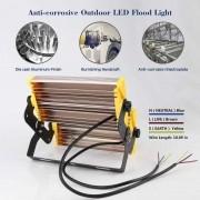 KIT 4 REFLETOR LED MODELO 2019 FLOOD LIGHT (TECNOLOGIA PHILIPS) 150W IP68 DOIS MODULOS NUMBER TWO