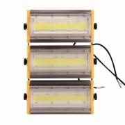 KIT COM 25 REFLETORES DE LED LINEAR BLINDADO 300W
