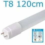 Lâmpada de Led T8 Tubular Vidro 20W 120cm Branco Frio 6500K Com Selo Inmetro Leitosa