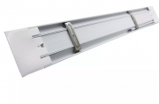 Lâmpada Led Tubular Linear com Calha HO 80w 240cm Slim Bivolt Leitosa