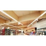 Lâmpada LED Tubular T8 13w - 90cm - Branco Frio Transparente