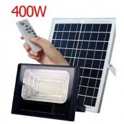 Refletor de led solar 400w bivolt 6500k branco frio resistente a água