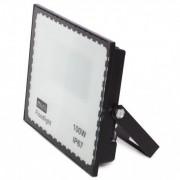 Refletor Led Holofote 100w Ip67 Bivolt Branco Frio