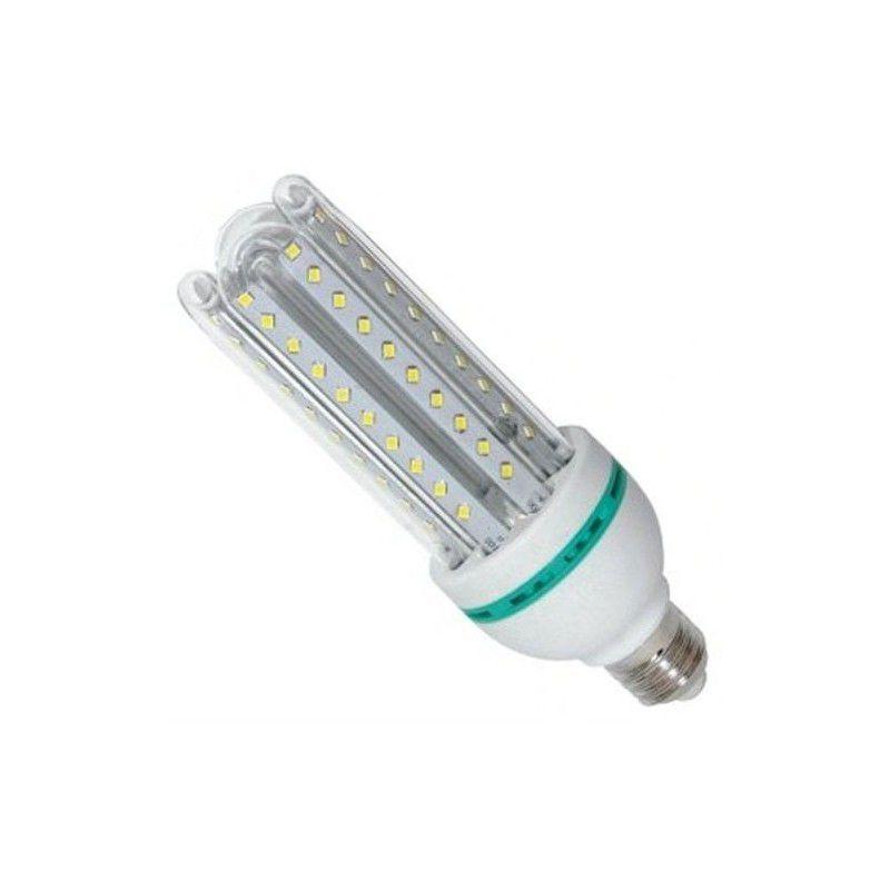 Kit 10 Lâmpadas de Led 3U 24w Milho Frio Bi-Volt Econômica