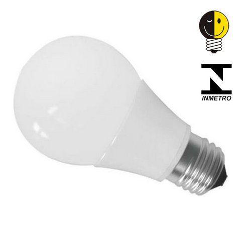 KIT 10 Lâmpadas Led 9w Bulbo Soquete E27 Bivolt Casa Comércio