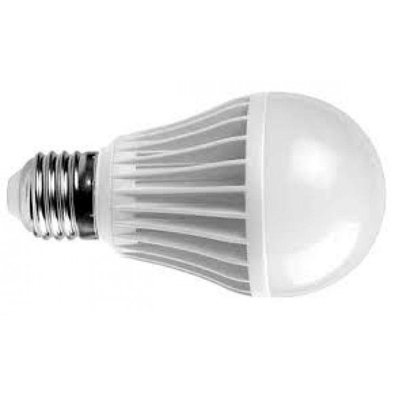 KIT 10 Lâmpadas LED Bulbo 5w e27 Branco Frio