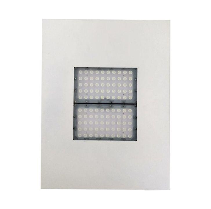KIT 10 Luminárias de Posto de Combustível 2 módulos 100W 13.000 Lumens Branco Frio (Modelo 2019)
