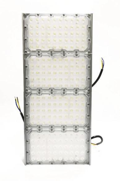 KIT 10 REFLETOR HOLOFOTE INDUSTRIAL MODELO 2020 FLOOD LIGHT (TECNOLOGIA PHILIPS) 400W QUATRO MÓDULOS NUMBER TWO