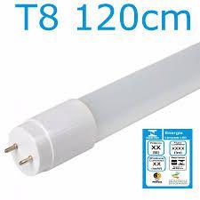 KIT 15 LÂMPADAS DE LED T8 TUBULAR VIDRO 20W 120CM BRANCO FRIO 6500K COM SELO INMETRO LEITOSA