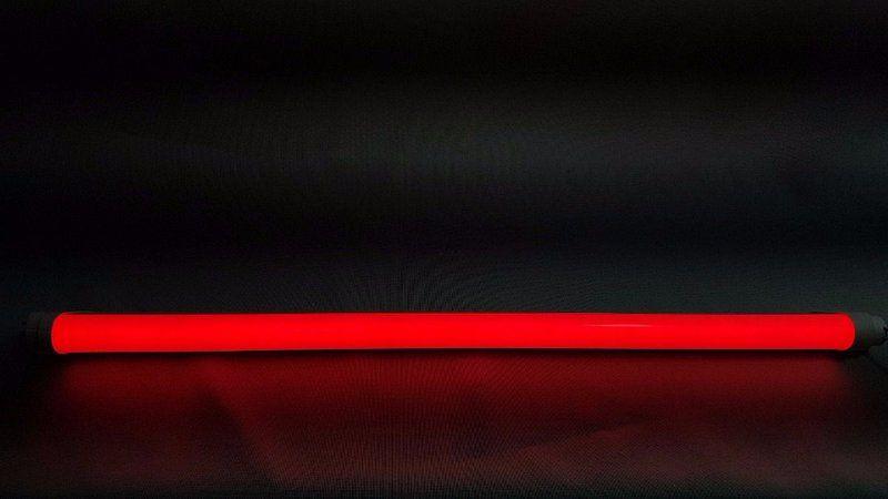 KIT 30 LÂMPADAS LED TUBULAR T8 VERMELHO AQUÁRIO 120CM BIVOLT 18W