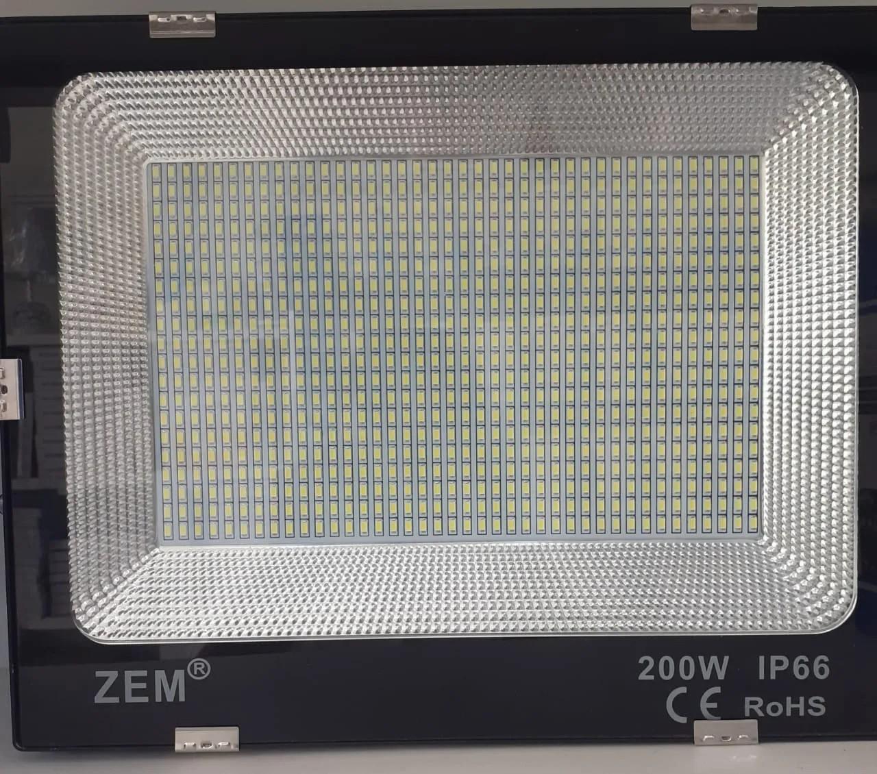 kit 30 Refletores de Led holofote 200w Cob 6500k SMD Branco frio